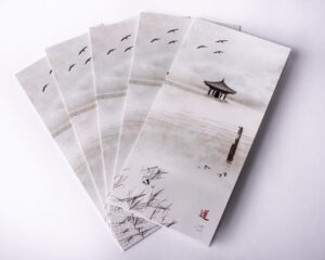 image of folding greeting cards
