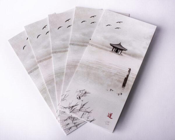image of folding greeting cards