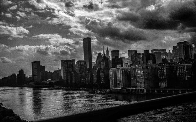 Photograph of the Manhattan Skyline