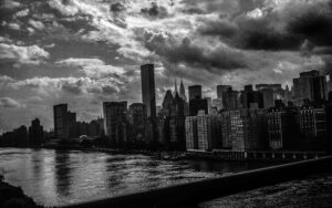 Photograph of the Manhattan Skyline